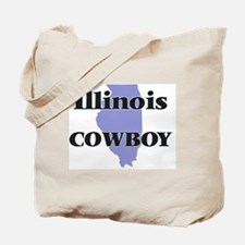 Illinois Cowboy Tote Bag