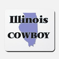 Illinois Cowboy Mousepad