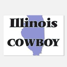 Illinois Cowboy Postcards (Package of 8)