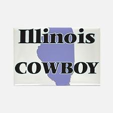 Illinois Cowboy Magnets