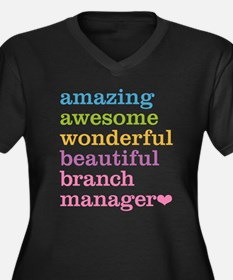 Amazing Branch Manager Plus Size T-Shirt