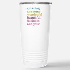 Amazing Business Analys Stainless Steel Travel Mug