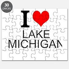 I Love Lake Michigan Puzzle
