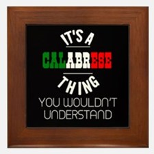 Calabrese Thing Framed Tile