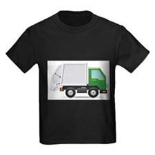 Unique Garbage truck kids T