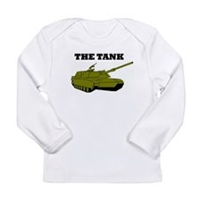 Cute Artillary Long Sleeve Infant T-Shirt