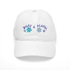 What A Flake Baseball Cap