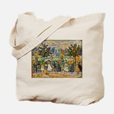 In Luxembourg Gardens by Prendergast Tote Bag