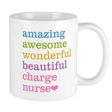 Amazing Charge Nurse Mugs