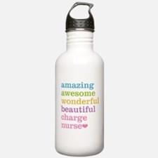 Amazing Charge Nurse Water Bottle