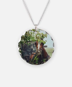 Funny Amish Necklace