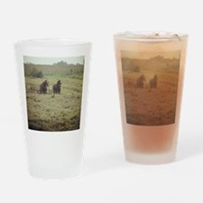 Funny Amish Drinking Glass