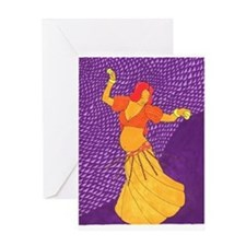 Mother Dance Greeting Card