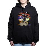 Cat skull Hooded Sweatshirt