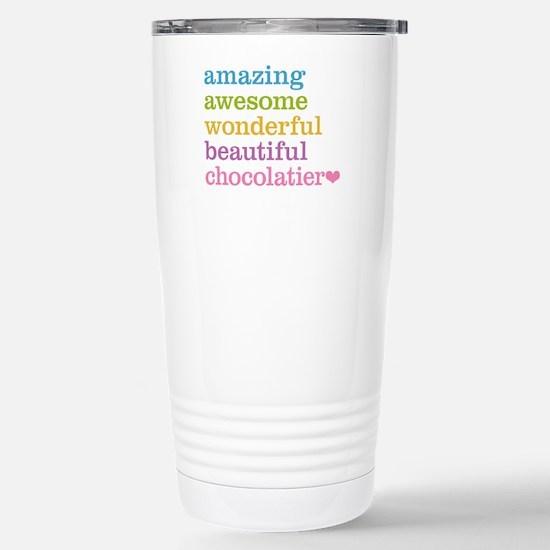 Amazing Chocolatier Stainless Steel Travel Mug