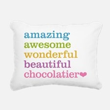 Amazing Chocolatier Rectangular Canvas Pillow