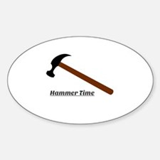 Hammer Time Decal