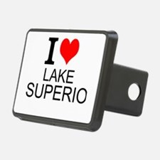 I Love Lake Superior Hitch Cover