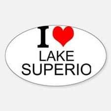 I Love Lake Superior Decal