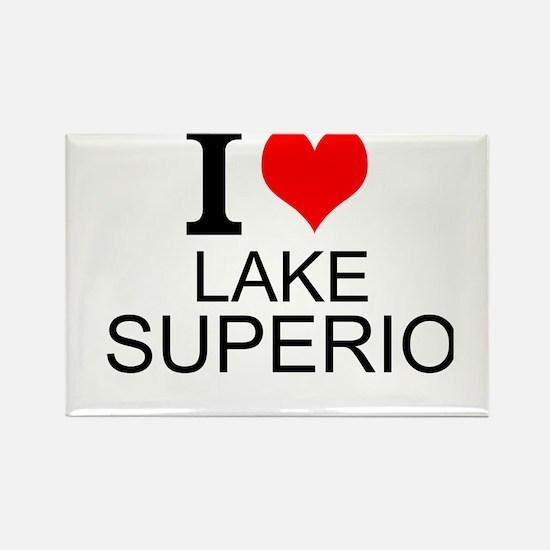 I Love Lake Superior Magnets