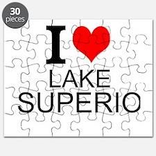 I Love Lake Superior Puzzle