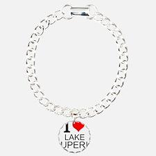 I Love Lake Superior Bracelet