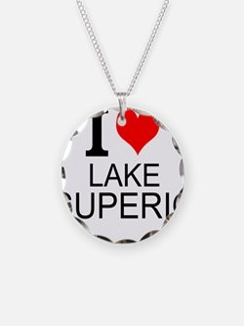 I Love Lake Superior Necklace
