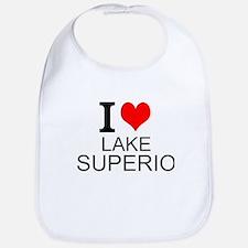 I Love Lake Superior Bib