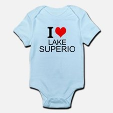 I Love Lake Superior Body Suit