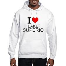 I Love Lake Superior Hoodie