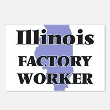 Illinois Factory Worker Postcards (Package of 8)