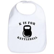 K Is For Kettlebell Bib