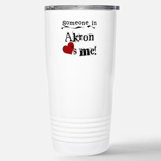 Akron Loves Me Mugs