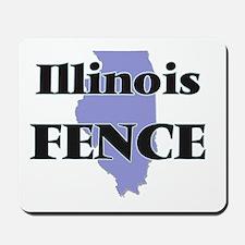 Illinois Fence Mousepad