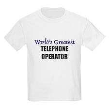 Worlds Greatest TELEPHONE OPERATOR T-Shirt