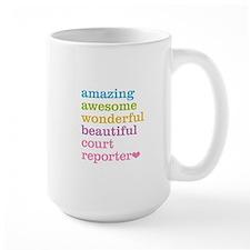 Amazing Court Reporter Mugs