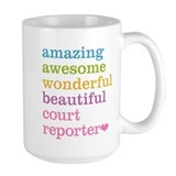 Court reporter Coffee Mugs
