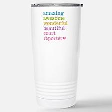 Amazing Court Reporter Travel Mug