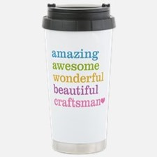 Amazing Craftsman Stainless Steel Travel Mug