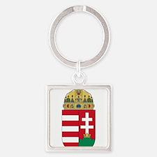 Cute Hungarian Square Keychain