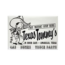 Texas Tommy's Truck Stop, Amarillo, TEXAS Magnets