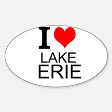 I Love Lake Erie Decal