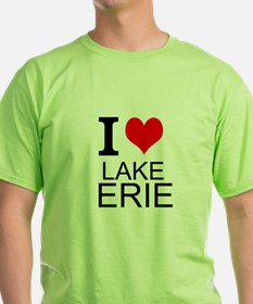 I Love Lake Erie T-Shirt