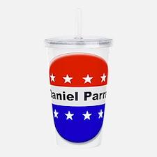 Vote Daniel Parra Acrylic Double-wall Tumbler