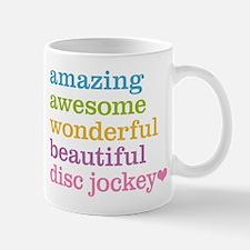 Amazing Disc Jockey Mugs