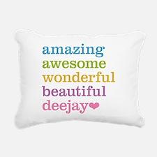Amazing Deejay Rectangular Canvas Pillow
