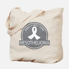 Mesothelioma Hope Fight Cure Tote Bag