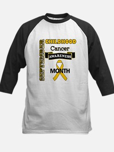Childhood Cancer Awareness Baseball Jersey
