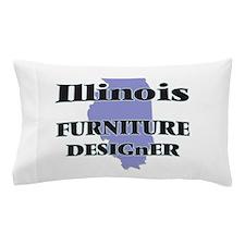 Illinois Furniture Designer Pillow Case