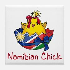 Namibian Chick Tile Coaster